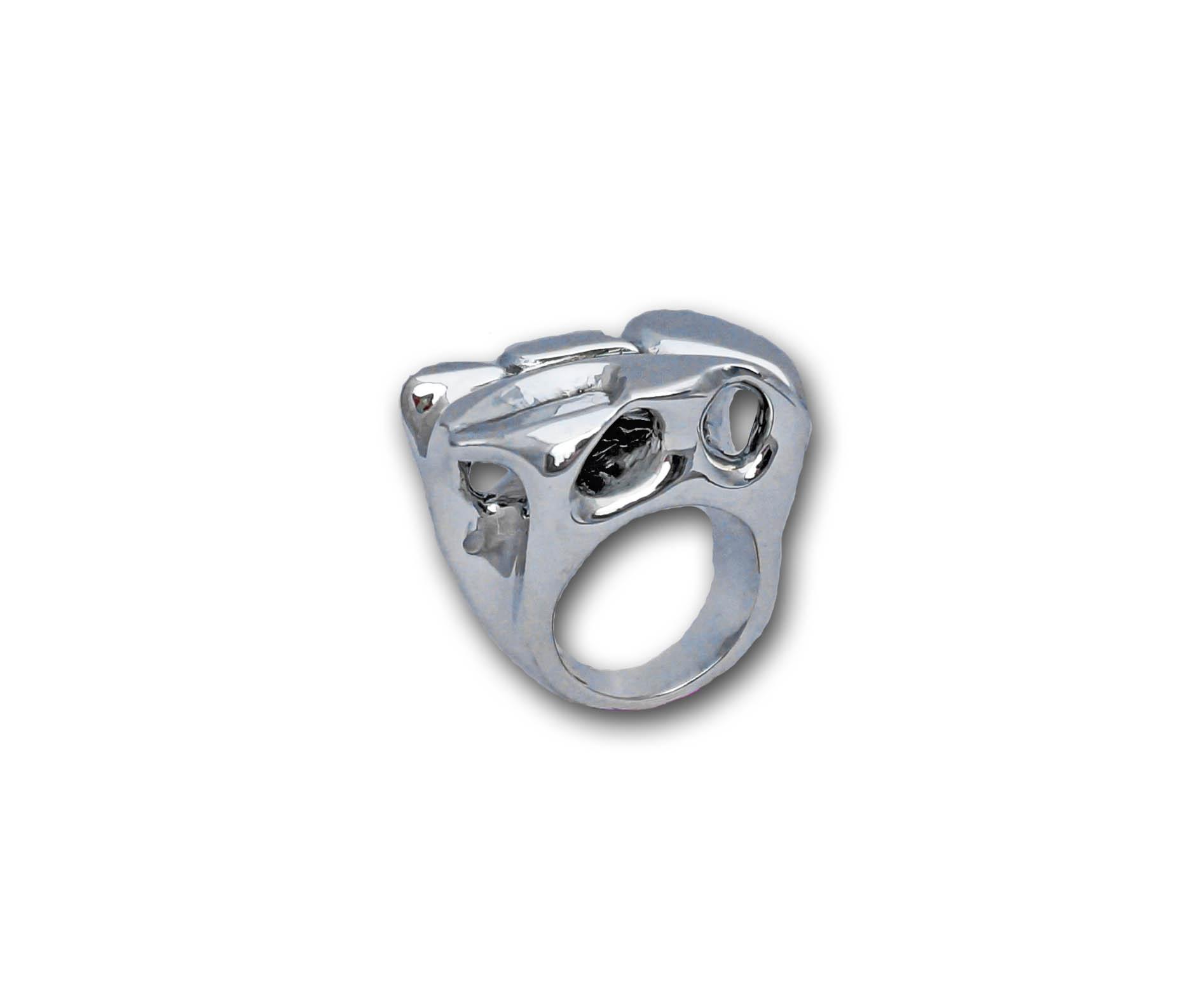 caverns ring on white 3