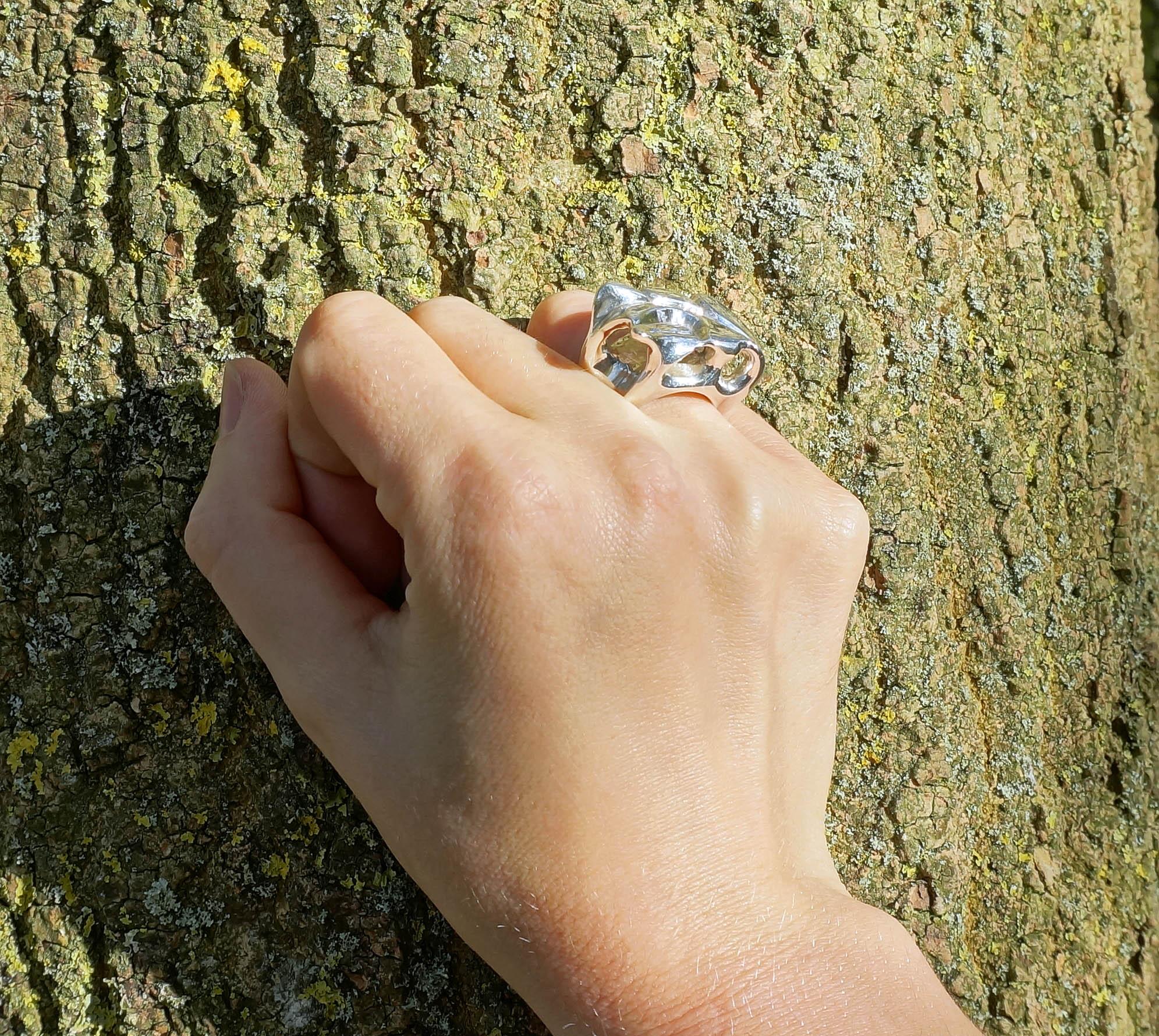 caverns ring worn 1