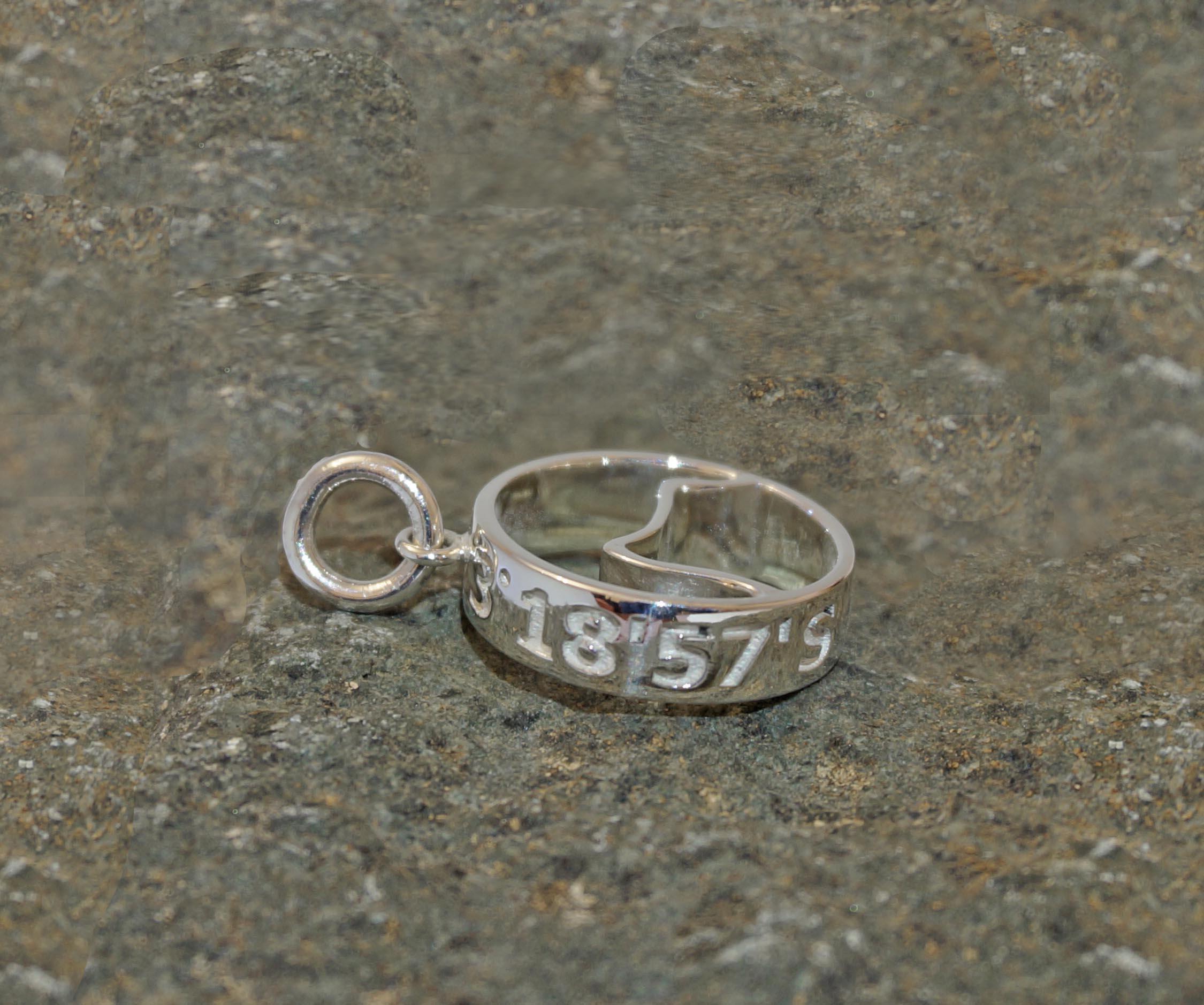 bespoke mountain pendant peak jewellery